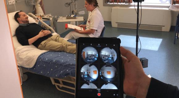 De inzet van VR-video's in de zorg