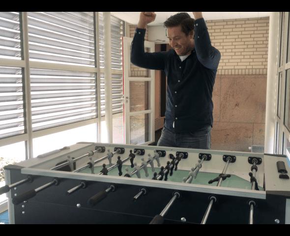 Onze kantoorbikkel Niels