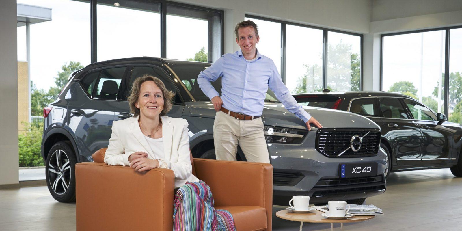 Martine en Ivor Hooftman